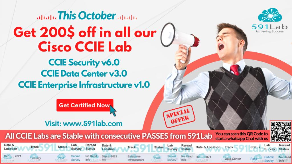 CCIE Lab Discount